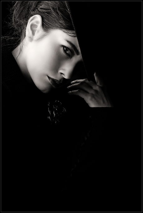 A Girl With a Hat by ~borissov@deviantart