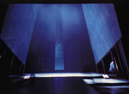 Blaubarts Burg - Bühnenbild Wirth