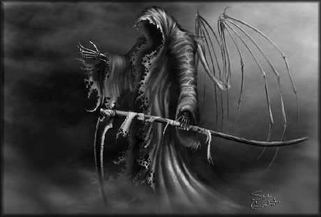 Angel of Death AKA Grim Reaper - © 2006-2007 ~sinslave@deviantart.com