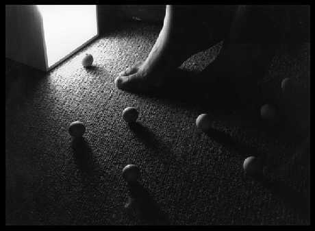 Feet and Balls in Light - © 2007 ~v1ntage@deviantart.com