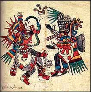 Quetzalcoatl und Tezcatlipoca