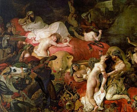 Eugéne Delacroix: Der Tod des Sardanapal