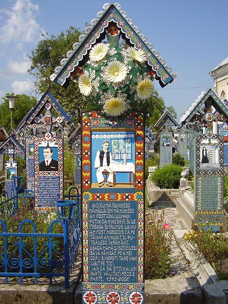Sapânţa Friedhof
