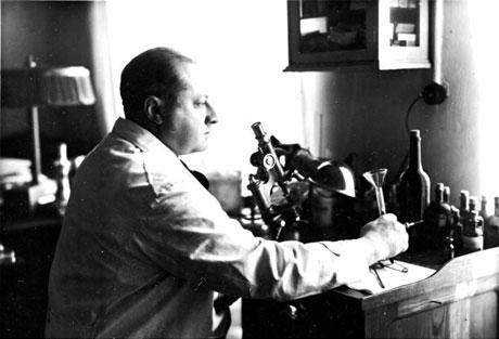 Gottfried Benn - Arzt und Schriftsteller, Quelle: Bundesarchiv