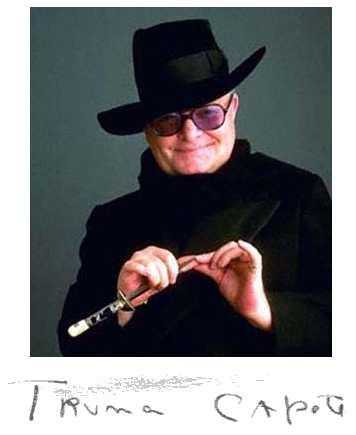 Truman Capote & Autograph