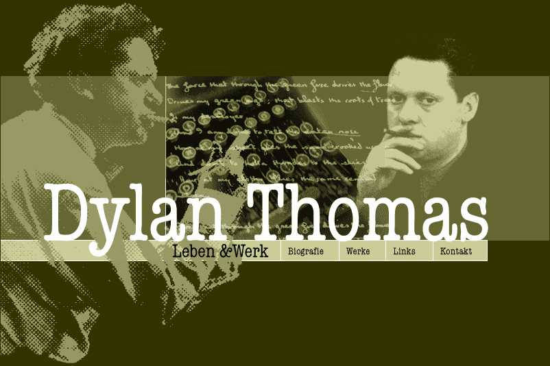 Deutsche Dylan Thomas Website (www.dylan-thomas.de)