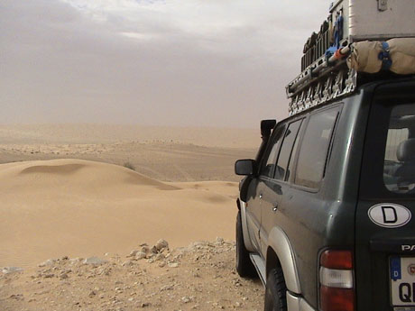 Off-Road in der Sahara, Foto: Rüdiger Unger
