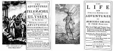 Daniel Defoe, Originalausgabe von »Robinson Crusoe«