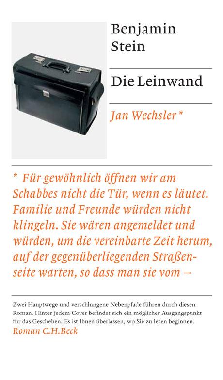 Die Leinwand (Wechsler-Cover)