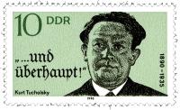 Tucholsky-Briefmarke der DDR