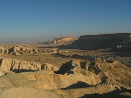 Die Wüste Negev, Quelle: Wikipedia
