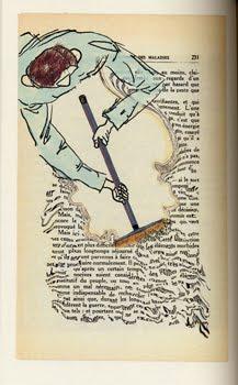 Eine Seite aus »Notre Combat« von Linda Ellia, hier gestaltet von Philippe Marchand