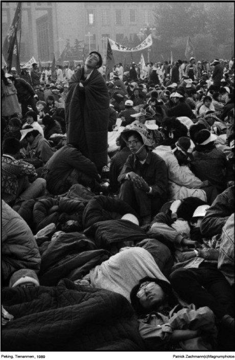 Patrick Zachmann: Peking Tienanmen 1989 © Magnumphotos