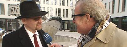 Armin Kratzert (BR) im Gespräch mit Benjamin Stein
