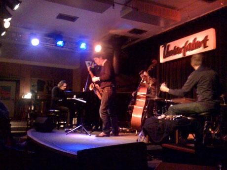 »Yuri Honing Acoustic Quartet« am 28. 01. 2010 in der Münchner »Unterfahrt«
