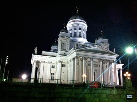 Rückseite des evangelischen Doms, Helsinki