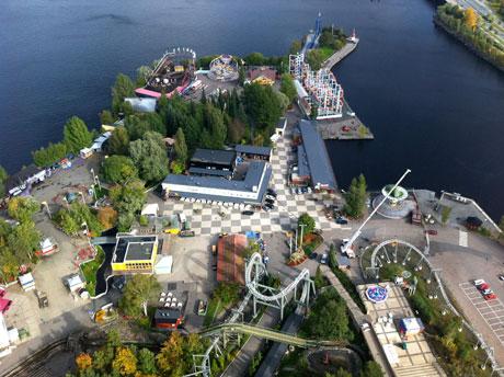 Blick vom Näsinneula, Tampere