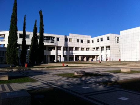 Haupteingang der Tel Aviv University