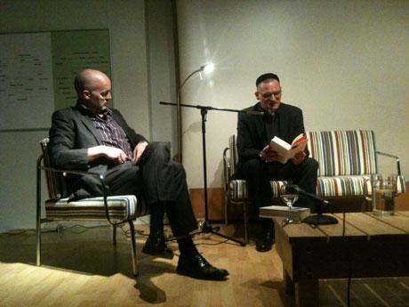 Prof. Christian Kohlross und Benjamin Stein, Jerusalem, Goethe-Institut, 29.12.2010