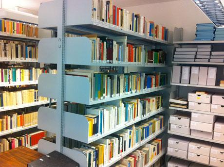 Im Koeppen-Archiv Greifswald: An die 10.000 Bände umfasste Koeppens private Bibliothek