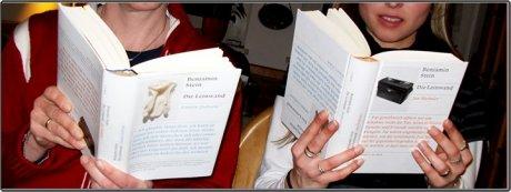 Die Leinwand bei LovelyBooks