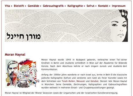 Moran Haynal Website