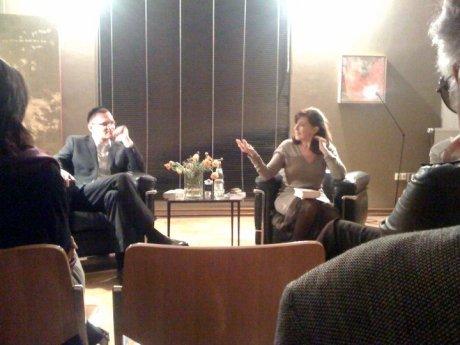 Anna-Patricia Kahn im Gespräch mit Benjamin Stein (27.4.2010, Galerie °CLAIR München)