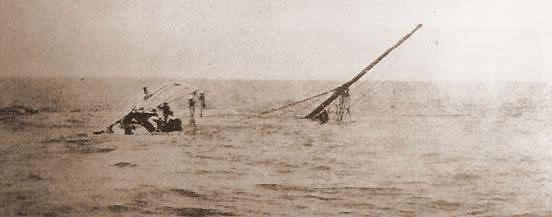 Überreste der Valbanera (1919), Quelle: encia21 blog