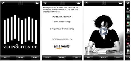 zehnseiten.de iPhone App