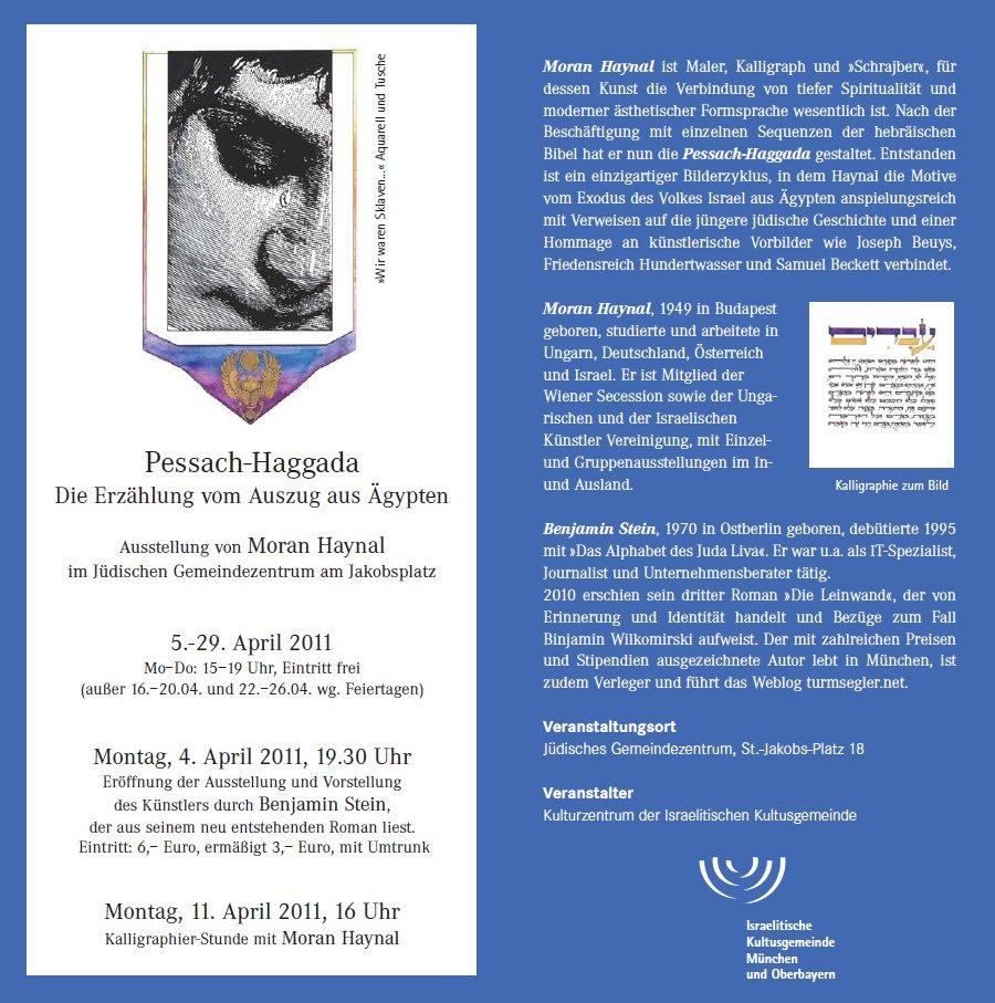 Moran Haynal - Ausstellung in München