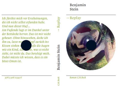 »Replay«-Cover, entworfen von Leander Eisenmann