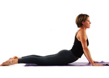 Yoga Cobra-Pose