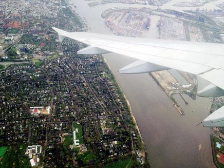 Über Hamburg