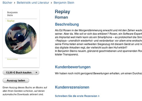»Replay« als Apple iBook