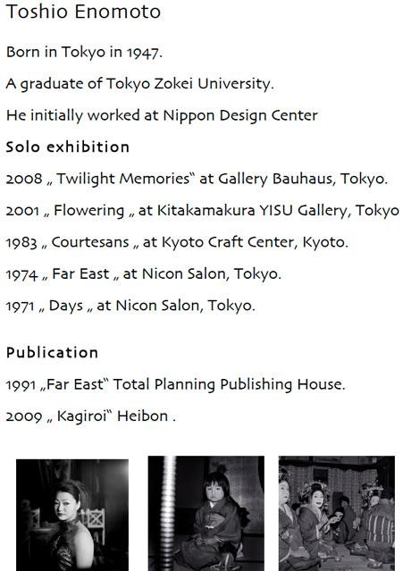 Toshio Enomoto Bio
