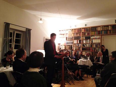 Tukan-Kreis im Hause Beck anlässlich des 80. Geburtstags von »Obertukan« Hans Dieter Beck