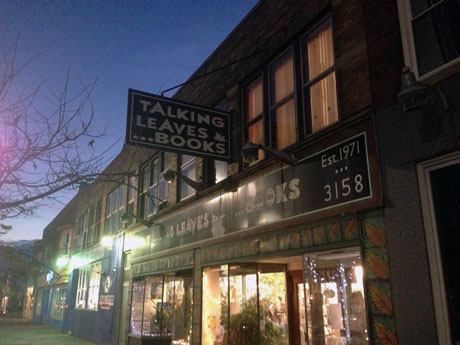 Talking Leaves ist DIE Buchhandlung in Buffalo