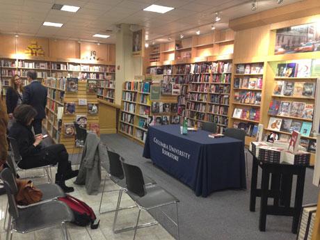 Brian Zumhagen im Gespräch mit Susan Bernofsky im Columbia University Bookstore