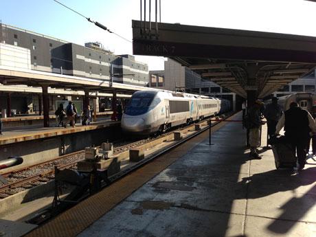 Mit Amtrak zurück nach New York