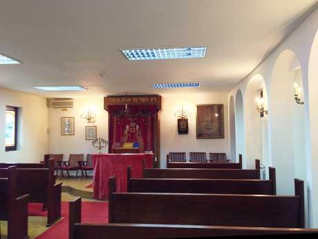 Synagoge in Skopje, Mazedonien