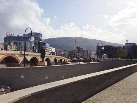 Steinerne Brücke, Skopje