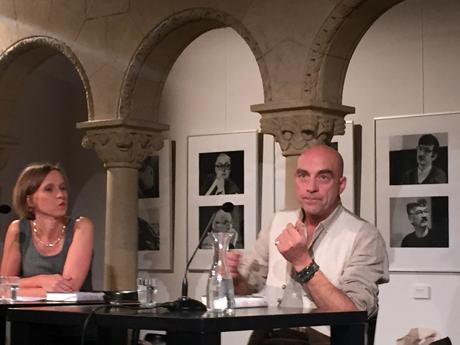 Wiebke Porombka im »Traumschiff«-Gespräch mit Alban Nikolai Herbst (08.09.2015, Literarisches Colloquium Berlin)