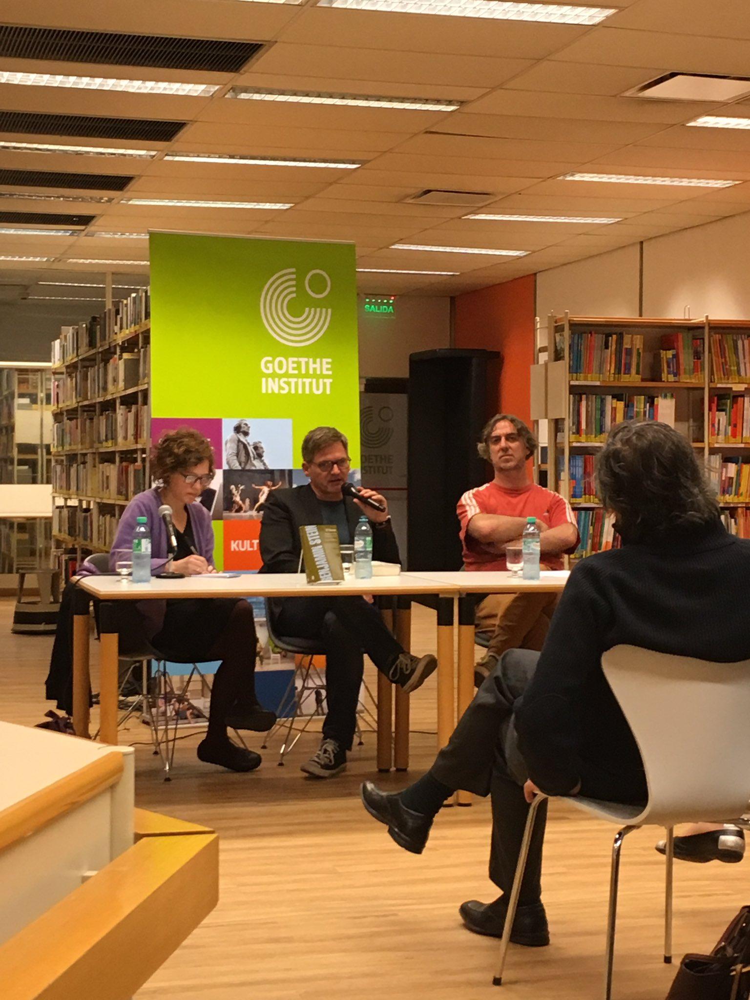 Lesung und Gespräch im Goethe-Institut Buenos Aires