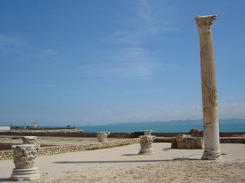 Die Ruinen Karthagos