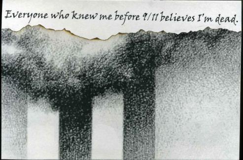 PostSecret Card 9/11
