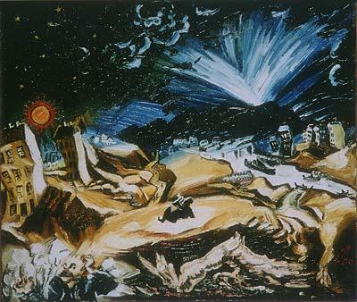 Ludwig Meidner: Apokalyptische Landschaft (1913)