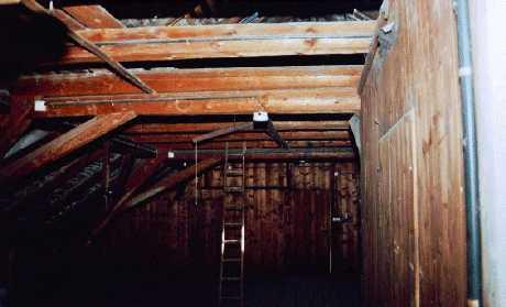 Dachboden der Oberlausitzer Webschule