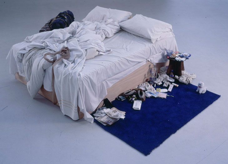 Tracey Emin: My Bed (Installation)