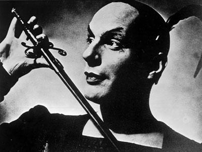 Gustaf Gründgens als Mephisto