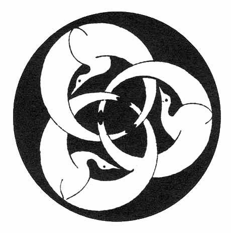 Hagakure - Motiv aus dem zitierten Buch